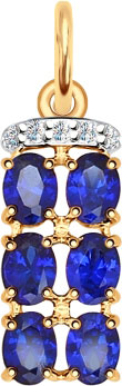 Кулоны, подвески, медальоны SOKOLOV 731349_s