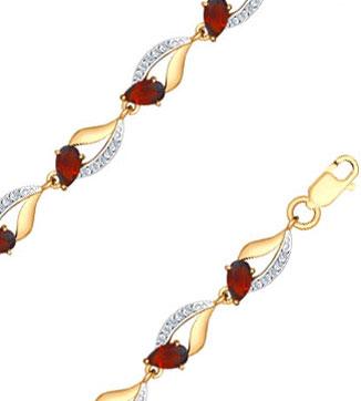 Браслеты SOKOLOV 750234_s браслеты из натуральных камней в украине