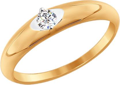 Кольца SOKOLOV 81010210_s yoursfs мода золото кольца кольца циркон ретро дизайн цветочные кольца для вечеринки