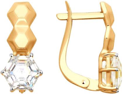 Золотые серьги Серьги SOKOLOV 81020320_s фото