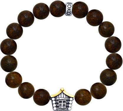 Браслеты SOKOLOV 8510500001_s муж жен strand браслеты wrap браслеты браслеты коричневый назначение новогодние подарки спорт