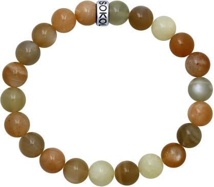 Браслеты SOKOLOV 8510500010_s муж жен strand браслеты wrap браслеты браслеты коричневый назначение новогодние подарки спорт