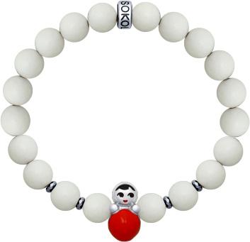 Браслеты SOKOLOV 8510500032_s браслеты с серебром и эмалью