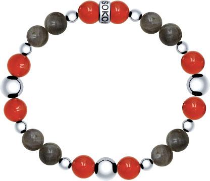 Браслеты SOKOLOV 8510500062_s муж жен strand браслеты wrap браслеты браслеты коричневый назначение новогодние подарки спорт