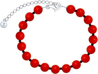 Браслеты SOKOLOV 8510500095_s u7 роскошные хрустальные бусины браслеты для женщин ювелирные изделия 2016 новые модный черный красный камень хамса рука сглаза браслет