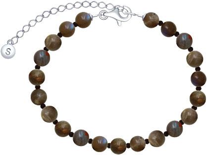 Браслеты SOKOLOV 8510500097_s муж жен strand браслеты wrap браслеты браслеты коричневый назначение новогодние подарки спорт