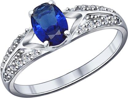 Серебряные кольца Кольца SOKOLOV 88010014_s фото