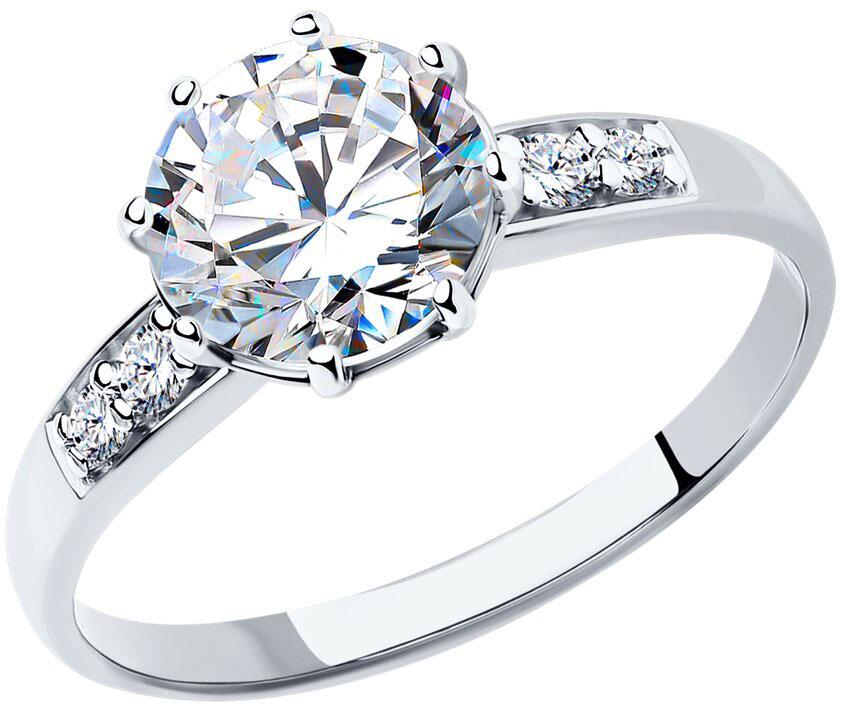 Кольца SOKOLOV 89010014_s женские кольца esprit женское серебряное кольцо с цирконами esrg 91386 a 18 5