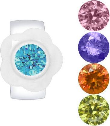 Кольца SOKOLOV 89010055_s женские кольца jv женское серебряное кольцо с куб циркониями cba330r 001 wg 17 5
