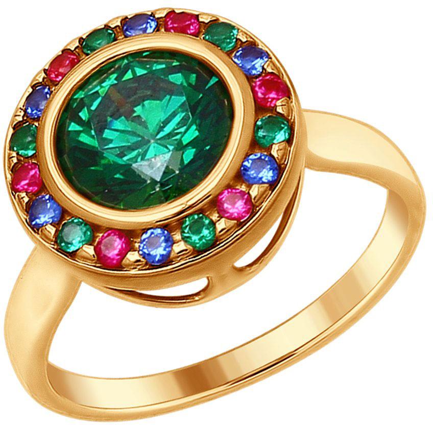 Кольца SOKOLOV 89010071_s женские кольца jv женское серебряное кольцо с синт аметистом в позолоте 30 014 510 030 gams yg 18