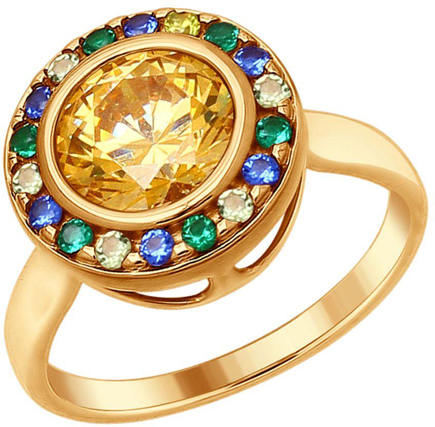 Кольца SOKOLOV 89010072_s женские кольца jv женское серебряное кольцо с синт аметистом в позолоте 30 014 510 030 gams yg 18
