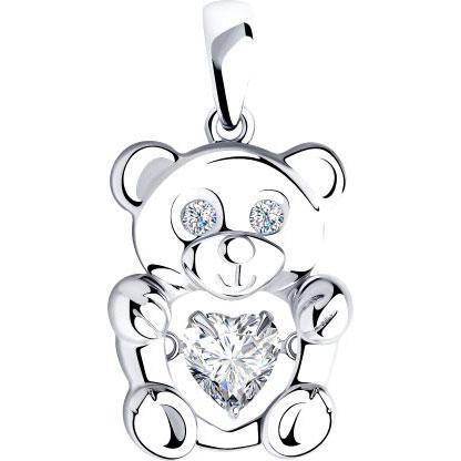 Серебряные кулоны, подвески, медальоны Кулоны, подвески, медальоны SOKOLOV 89030055_s фото