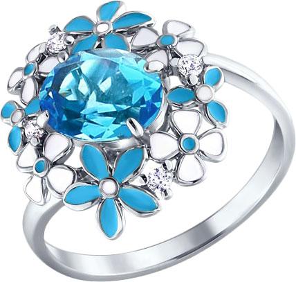 Серебряные кольца Кольца SOKOLOV 92010244_s фото