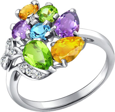 Кольца SOKOLOV 92010344_s