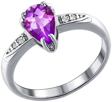 Кольца SOKOLOV 92010630_s кольцо с 81 фианитами из серебра 925 пробы