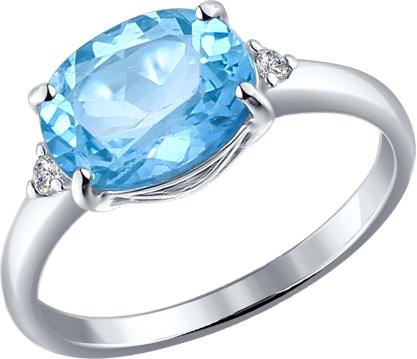 Кольца SOKOLOV 92010972_s moonka studio серебряное кольцо с топазом