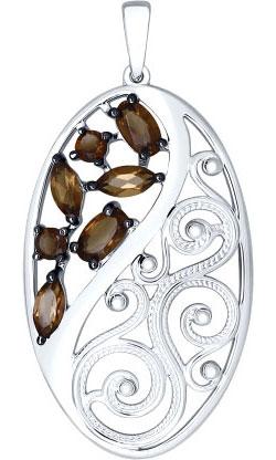Кулоны, подвески, медальоны SOKOLOV 92030438_s