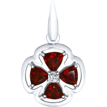 Кулоны, подвески, медальоны SOKOLOV 92030552_s