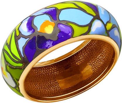 Серебряное кольцо SOKOLOV 93010507_s c эмалью