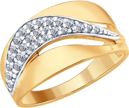Кольца SOKOLOV 93010706_s кольцо с 81 фианитами из серебра 925 пробы