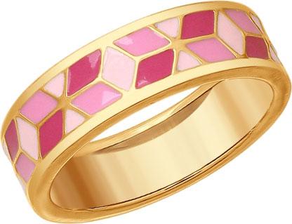 Кольца SOKOLOV 93010709_s_17-5 золотые кольца высокой пробы