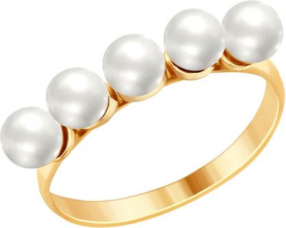 Кольца SOKOLOV 93010733_s_18-5 золотые кольца высокой пробы