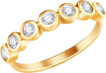 Кольца SOKOLOV 93010734_s_17-5 золотые кольца высокой пробы