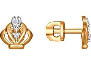 Серьги SOKOLOV 93020769_s yoursfs новый дизайн серьги серьги серьги серьги для женщин девочек высокое качество