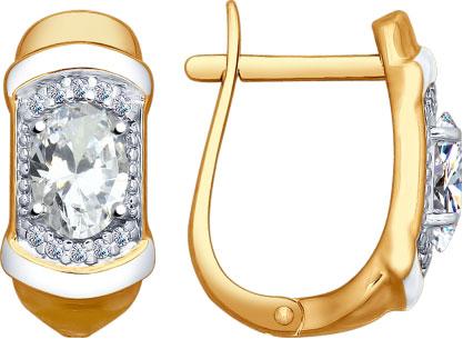 Серебряные серьги Серьги SOKOLOV 93020805_s фото