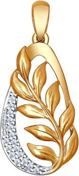Кулоны, подвески, медальоны SOKOLOV 93030325_s кулоны подвески медальоны sokolov 94030700 s