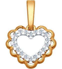 Серебряные кулоны, подвески, медальоны Кулоны, подвески, медальоны SOKOLOV 93030327_s фото