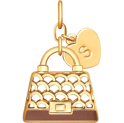 Кулоны, подвески, медальоны SOKOLOV 93030384_s