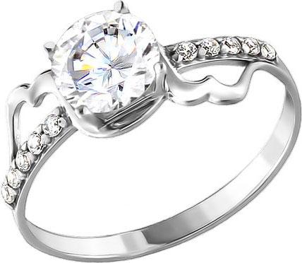 Кольца SOKOLOV 94010359_s кольцо с 81 фианитами из серебра 925 пробы