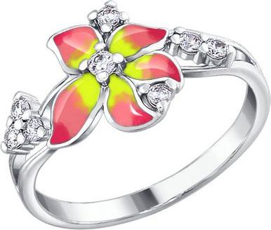 Серебряные кольца Кольца SOKOLOV 94010411_s фото