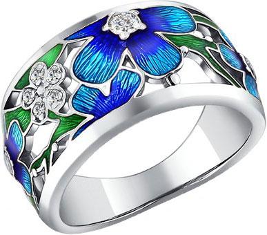 Кольца SOKOLOV 94010610_s кольца wisteria gems кольцо с синей друзой