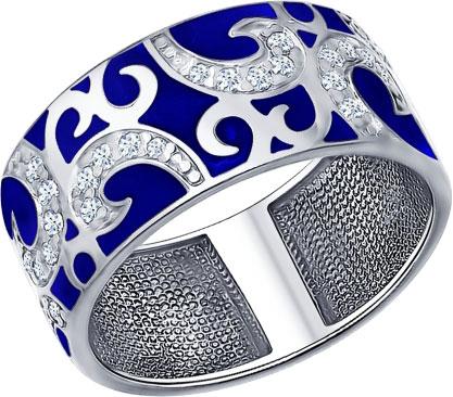 Кольца SOKOLOV 94011344_s кольца wisteria gems кольцо с синей друзой