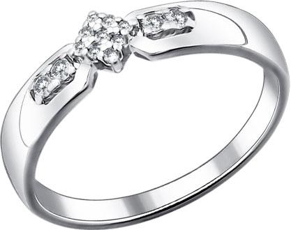 Кольца SOKOLOV 94011453_s кольцо с 81 фианитами из серебра 925 пробы