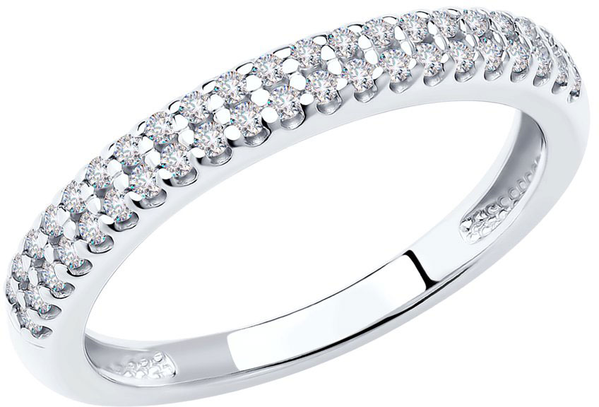 Кольца SOKOLOV 94011536_s ювелирные изделия 900 пробы