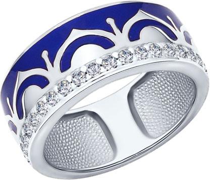 Кольца SOKOLOV 94011950_s кольца wisteria gems кольцо с синей друзой