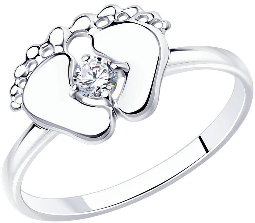 Серебряные кольца Кольца SOKOLOV 94012124_s фото