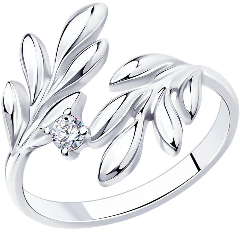 Серебряные кольца Кольца SOKOLOV 94012160_s фото