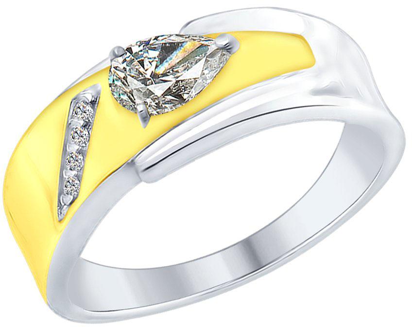 Кольца SOKOLOV 94012384_s кольцо с 81 фианитами из серебра 925 пробы