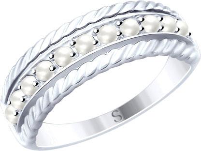 Серебряные кольца Кольца SOKOLOV 94012494_s фото