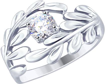 Кольца SOKOLOV 94012497_s_17 золотые кольца высокой пробы