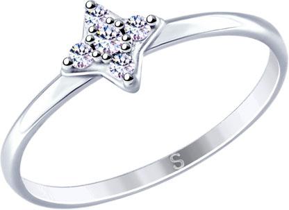 Серебряные кольца Кольца SOKOLOV 94012668_s фото