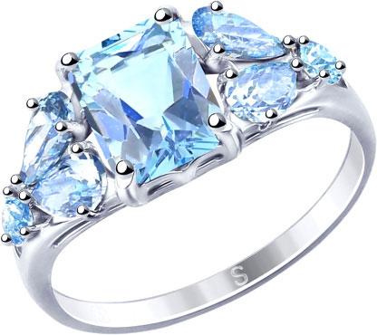 Серебряные кольца Кольца SOKOLOV 94012760_s фото
