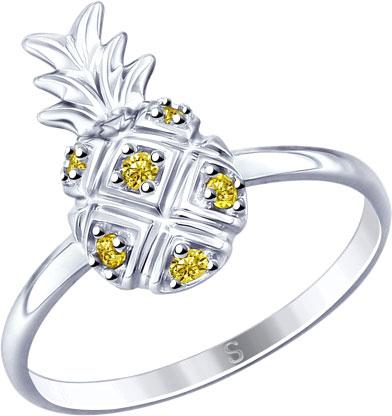 Серебряные кольца Кольца SOKOLOV 94012766_s фото