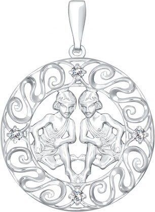Кулоны, подвески, медальоны SOKOLOV 94030392_s кулоны подвески медальоны sokolov 035318 s