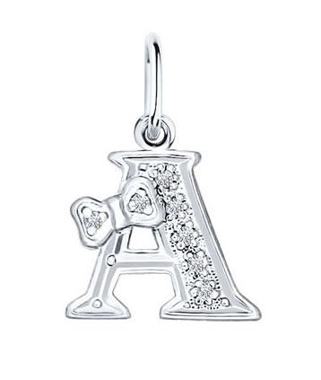 Кулоны, подвески, медальоны SOKOLOV 94030471_s жен мотаться уникальный дизайн в виде подвески кулон серебряный одинарная цепочка перо серьги назначение повседневные
