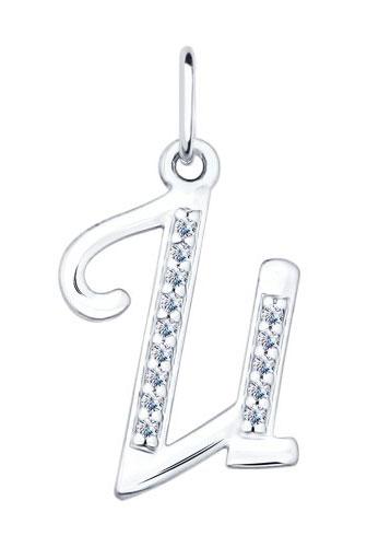 Кулоны, подвески, медальоны SOKOLOV 94031368_s жен мотаться уникальный дизайн в виде подвески кулон серебряный одинарная цепочка перо серьги назначение повседневные